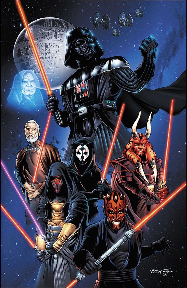 Star Wars Sith Lords by jasonbaroody.deviantart.com on @deviantART