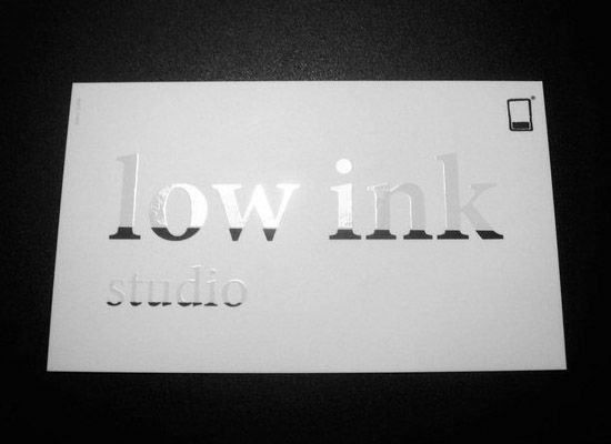 311 best business cards images on pinterest business card design low ink card reheart Images