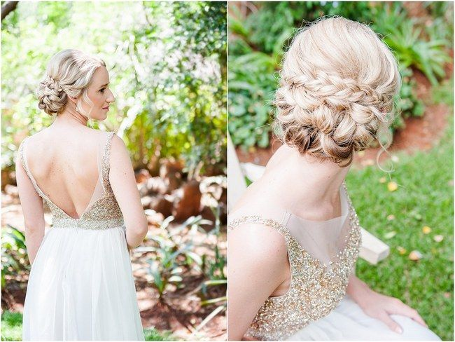 braided wedding updos