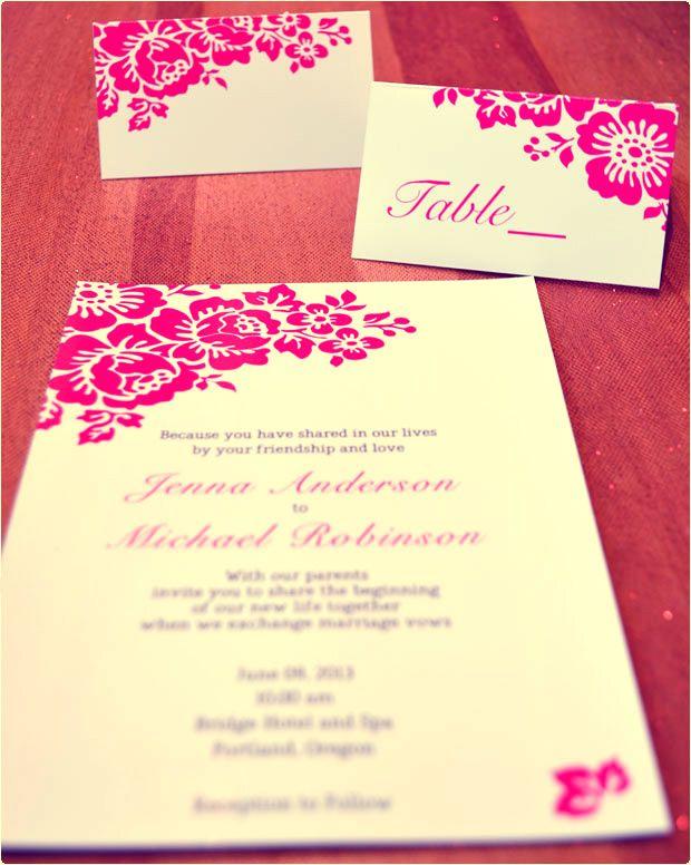 17 Best Ideas About Free Printable Wedding Invitations On Pinterest