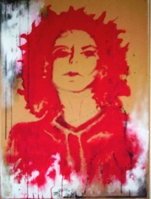 Acryl on Canvas   by Eve Lingen