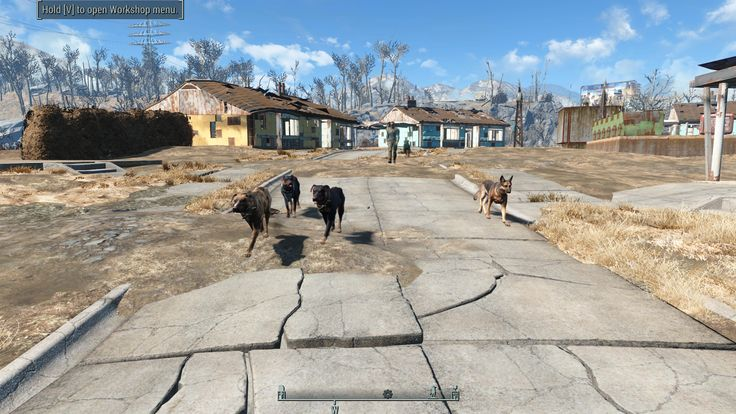 Who let the dogs out? moving six junkyard dogs to Red Rocket! #Fallout4 #gaming #Fallout #Bethesda #games #PS4share #PS4 #FO4
