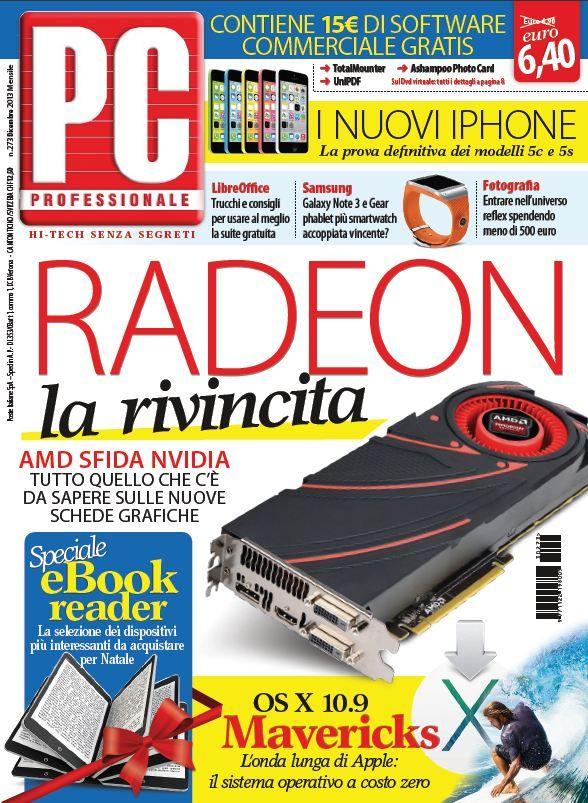 PC Professionale N. 273 - Dicembre 2013 (True PDF) Italian | True PDF | 180 pages | 37,6 Mb
