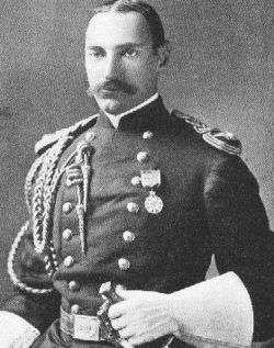 Colonel John Jacob Astor IV, seved in the Spanish American War.He would later perish on The Titanic
