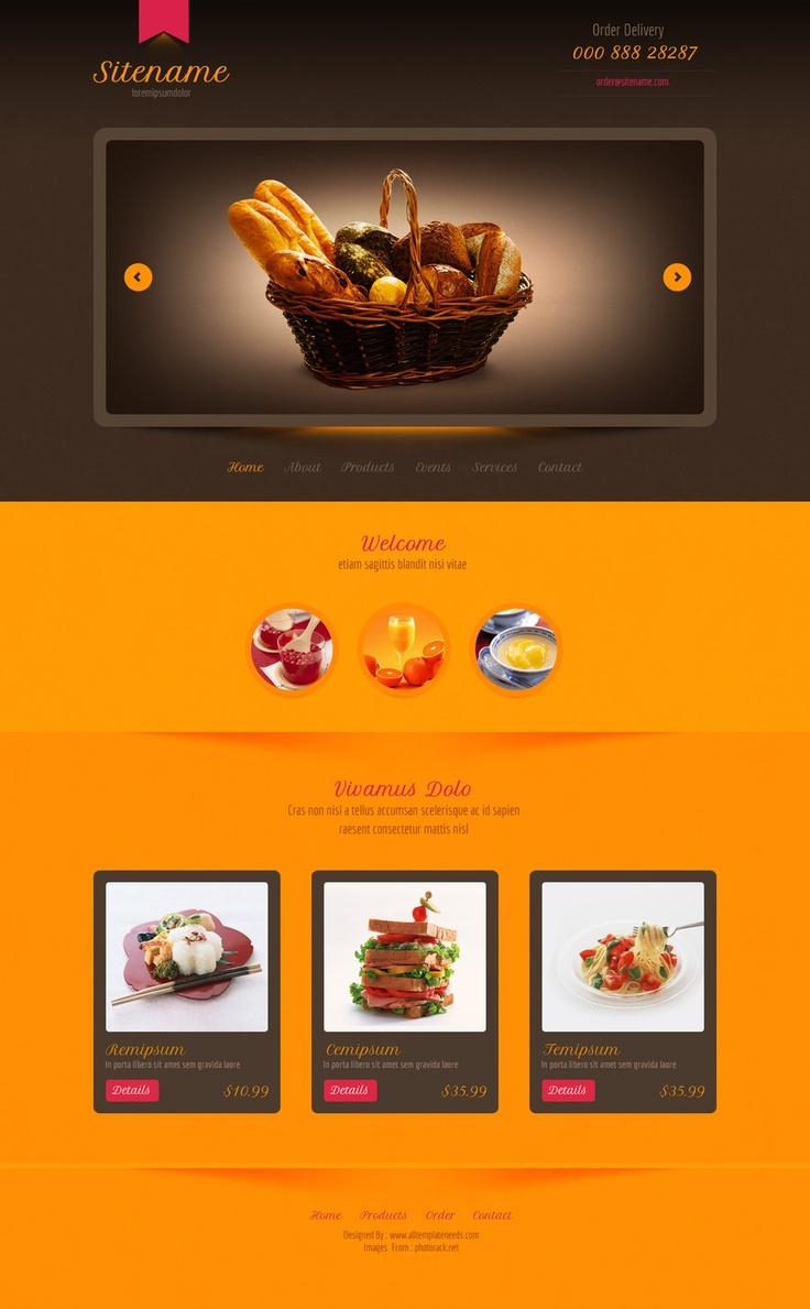 126 best web design templates images on pinterest design
