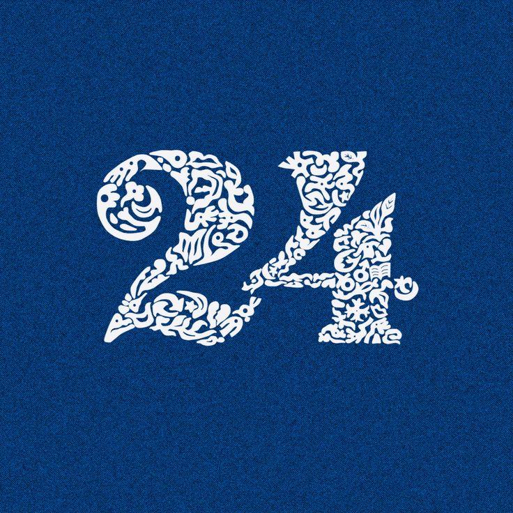 (24), birthday logo for me..