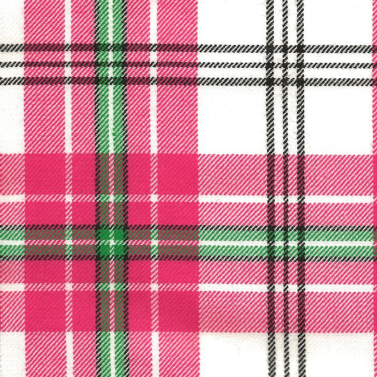 "New & exclusive Thistle Blush Tartan. Vibrant & bright, selected especially for the Champion Highland Dancer. The main checks are enhanced by our choice of lively accent colours, rather than the usual black. Our tartan design sett's just 5 5/8"" making it ideal for our youthful dancers. Perfectly selected matching velvets available."