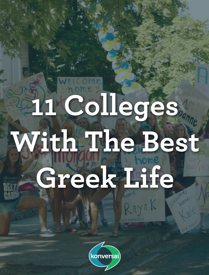 11 Colleges With The Best Greek Life  College | University | School | Student | Greek | Greek Life | Share | knowledge | earn | money