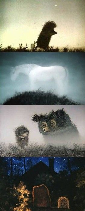(Hedgehog in the Fog), 1975 (dir. Yuriy Norshteyn)