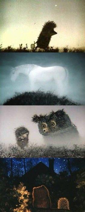 Yozhik v tumane (Hedgehog in the Fog), 1975 (dir. Yuriy Norshteyn)