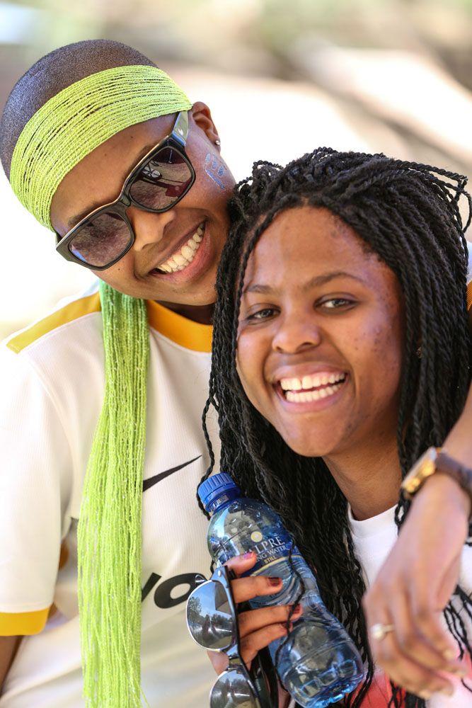 Yolanda and Tebogo #Foozball #FHTeamZA #FHFB14