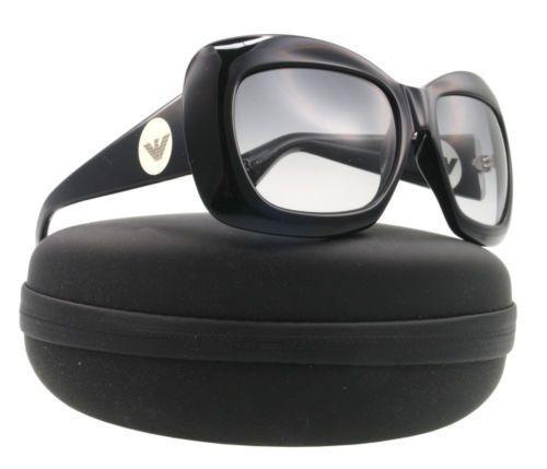 NEW Emporio Armani Sunglasses EA 9425 Black PYRLF EA9425 55mm New with case  #EmporioArmani