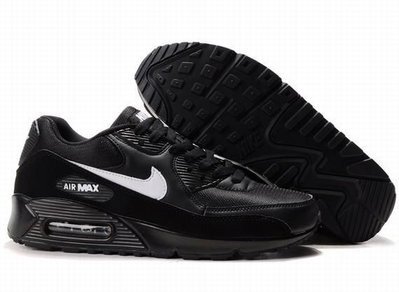 Ken Griffey Shoes Nike Air Max 90 Black [Nike Air Max 90 - Nike Air Max 90  Black shoes feature top quality. The mesh and synthetic leather upper is  quite ...