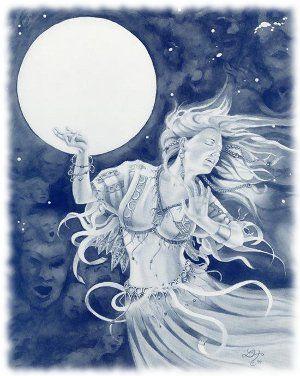 A magia da Lua Cheia | Teia de Thea