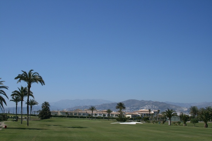 "Ausblick vom Golfplatz ""Los Mariscos"" im ROBINSON Club Playa Granada"