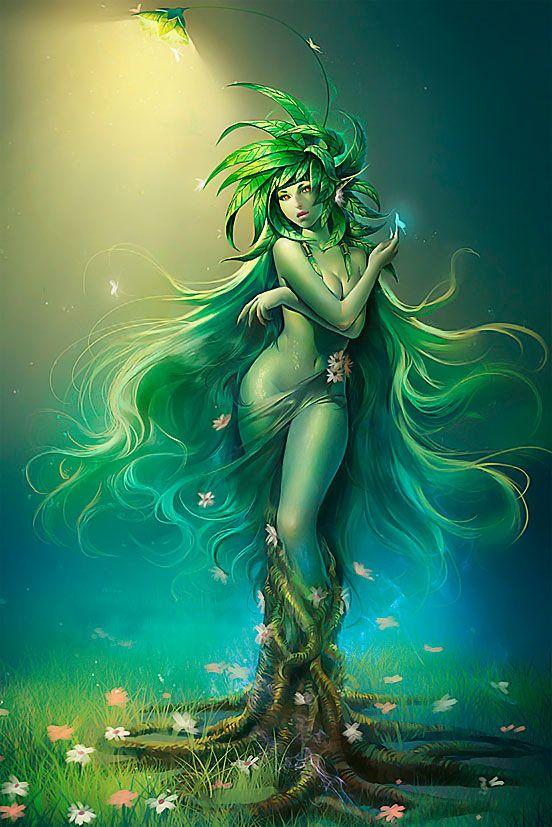 Criaturas Mitológicas con forma de Mujer IV