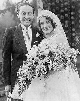 Norma Shearer and IrvingThalberg's wedding, October 3, 1927