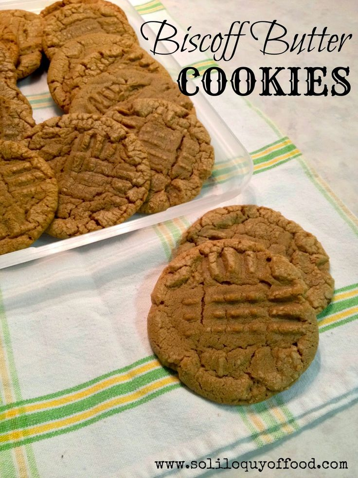 Biscoff Butter Cookie