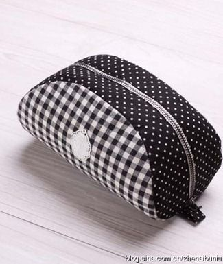 pouch with template : jolie forme !