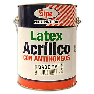 Sipa Latex Acril Antihongo Bas P 1G