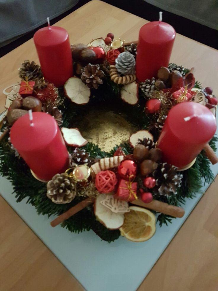 40 best adventskranz images on Pinterest  Advent wreaths
