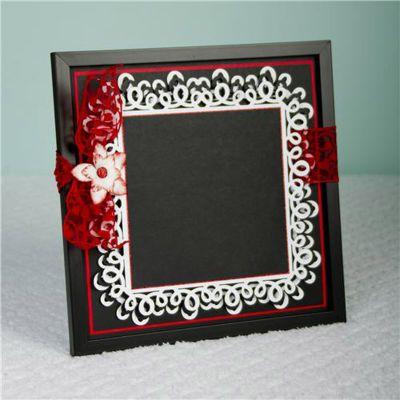 187 best cricut elegant edges images on pinterest for Elegant christmas card ideas