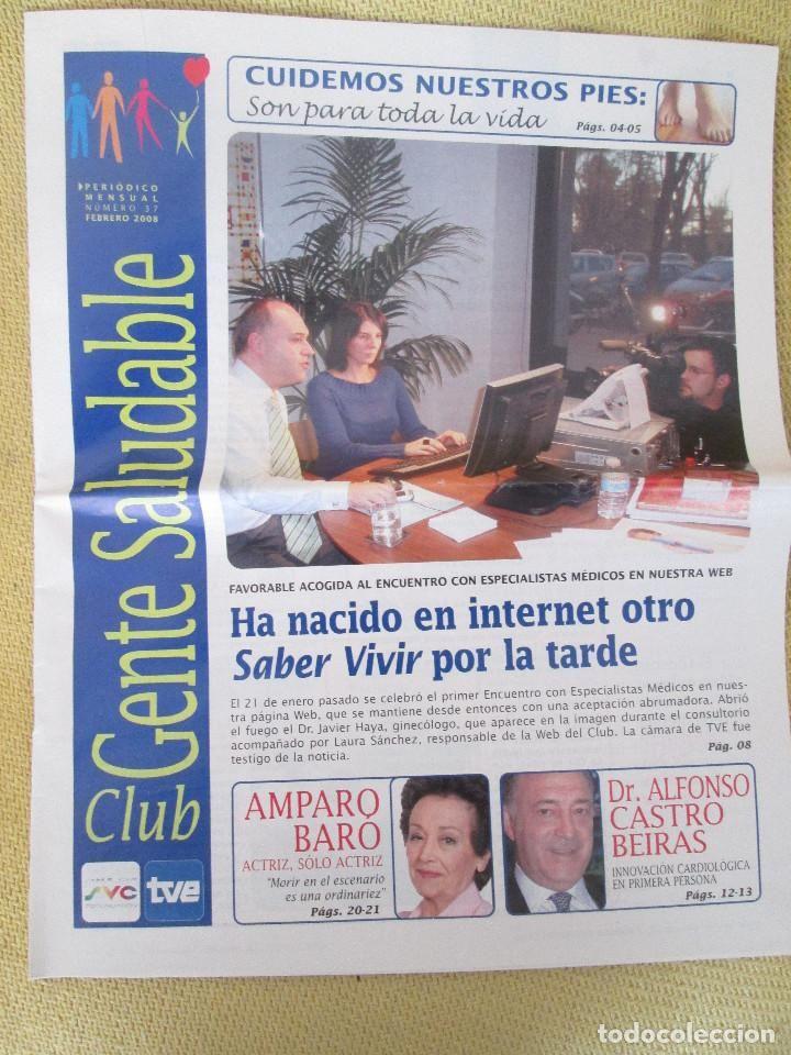 REVISTA CLUB GENTE SALUDABLE Nº 37 FEBRERO 2008