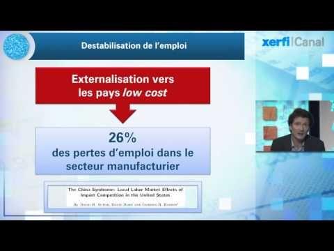 Olivier Passet, Xerfi CanalLa « grande peur » des nouvelles technologies sur l'emploi - YouTube