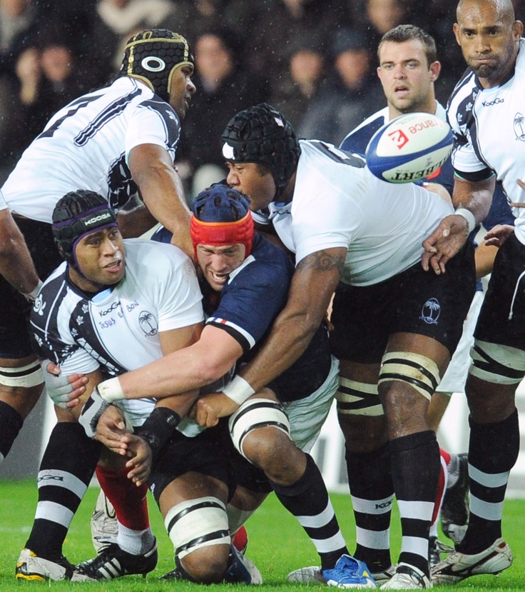 Rugby Union | Gallery | France 34-12 Fiji, Stade de la Beaujoire | ESPN Scrum