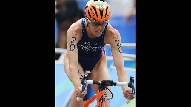 USA'S Gwen Jorgensen wins women's Rio Olympic triathlon gold medal - ABC10.com