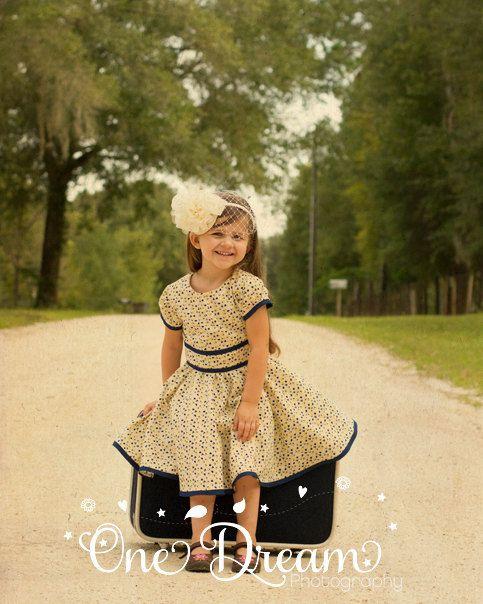 50s Style Flower Girl Dresses