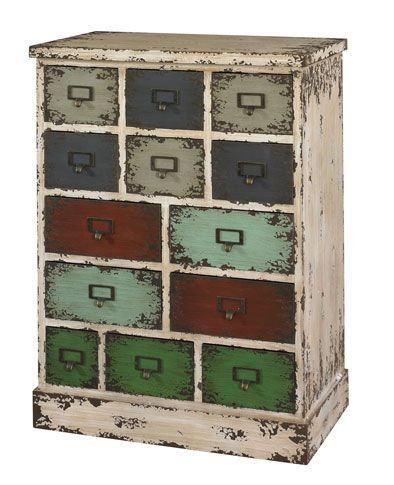 Parcel 13 Drawer Chest   Grand Home Furnishings   Vintage and Distressed. 130 best What s New Wednesday images on Pinterest