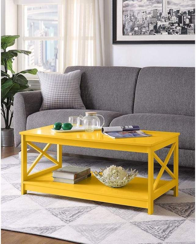Beachcrest Home Stoneford Coffee Table Coffee Table Living Room Furniture Sale Chic Coffee Table