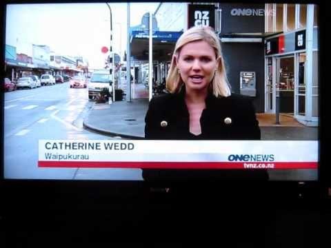 Waipukurau On The News
