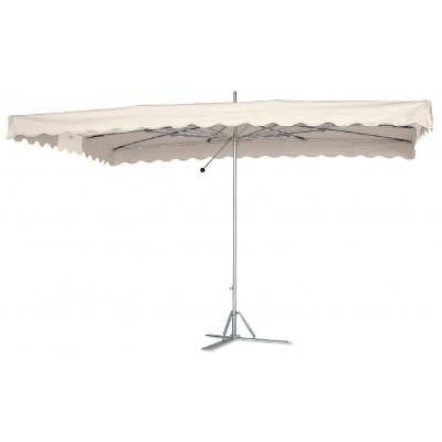 Parasol toile blanc et armature Paragliss + housse 4 x 3m - 429€