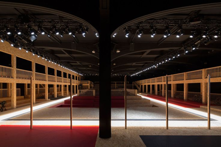 Agostino Osio, Alberto Moncada, OMA - Office of Metropolitan Architecture · Prada Men's and Women's Show FW 2016 · Divisare