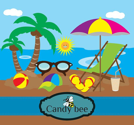 summer vacation clipart - photo #16