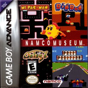 Complete Namco Museum - Game Boy Advance
