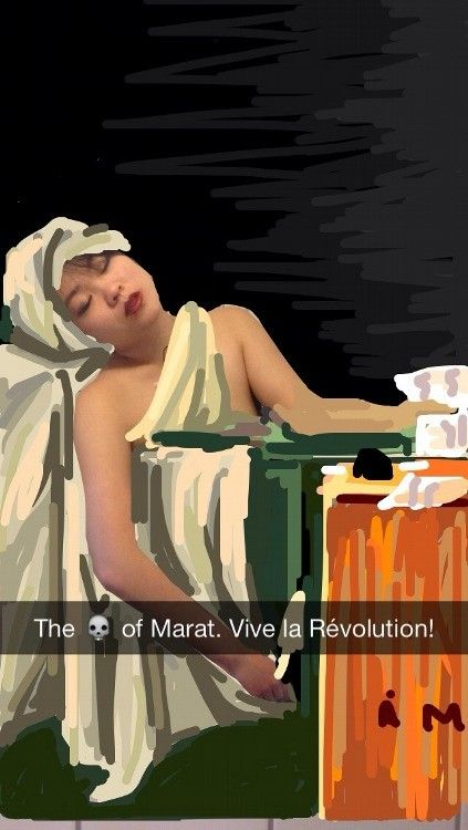 "<i><em data-redactor-tag=""em""></em><em>The Death of Marat</em></i>"