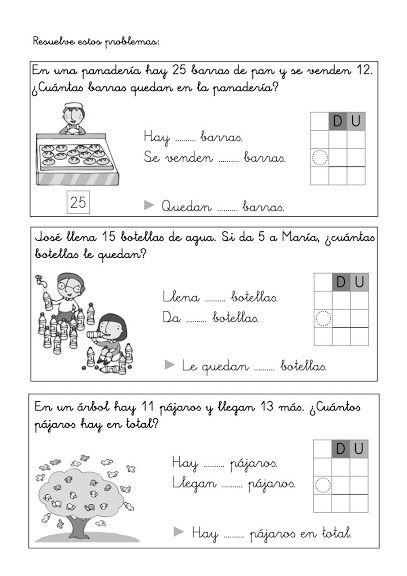 FICHAS COMPLEMENTARIAS 1º PRIMARIA. MATEMÁTICAS - Carmen Ortega - Álbuns da web do Picasa