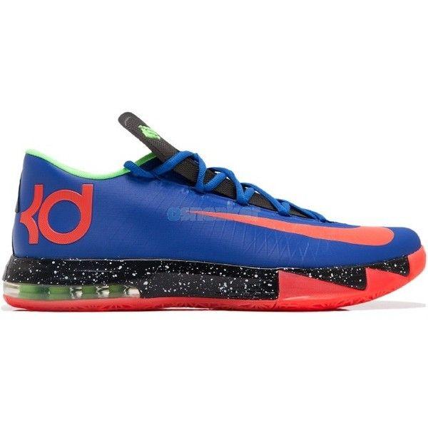 Nike ID KD VI (6) Neutron ($275) ? liked on Polyvore