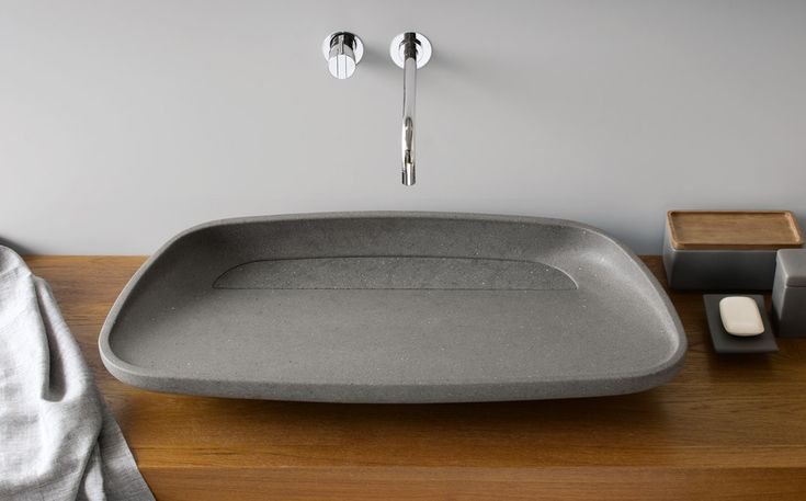 INKSTONE WASHBASIN by Steve Leung: #bathroom, #spa, #stone, #marble, #design, #MadeinItaly, #wellness, #design, #luxury, #washbasin #design