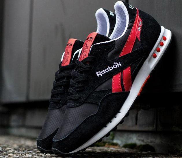 ... Reebok Classic ERS 1500-Black-White-Bright Cadmium | Sneakers |  Pinterest