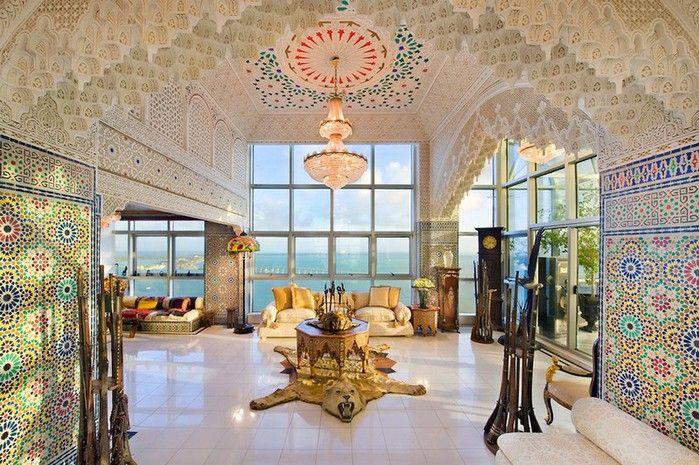 Роскошный арабский стиль в пентхаусе из Майами 4 (700x465, 149Kb)