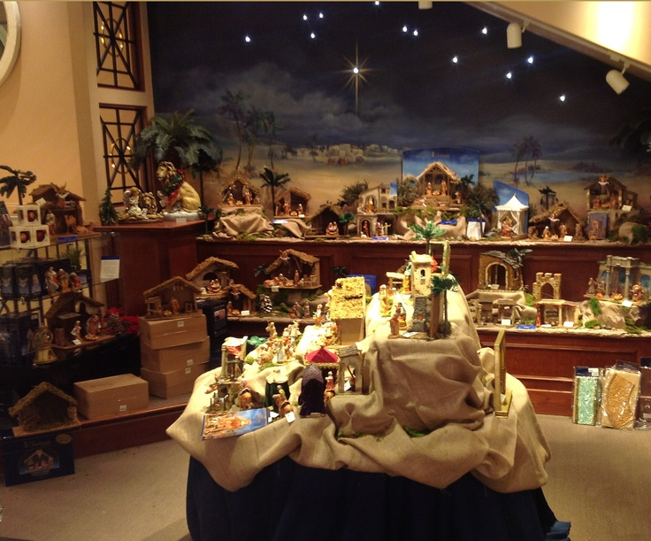 Shrine's stunning Fontanini display! —at The Shrine of Christ's Passion in Indiana. @Debbie Williams