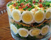 Обалденно вкусный салат на скорую руку