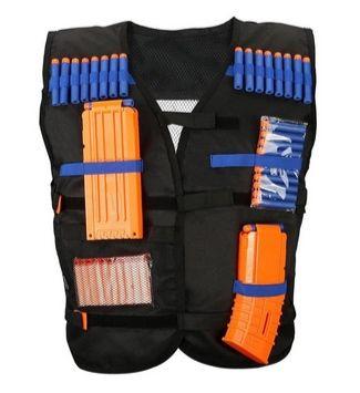 Adjustable Tactical Vest for Nerf Elite Blasters Only $7.99 (Was $19) - https://www.swaggrabber.com/?p=329540