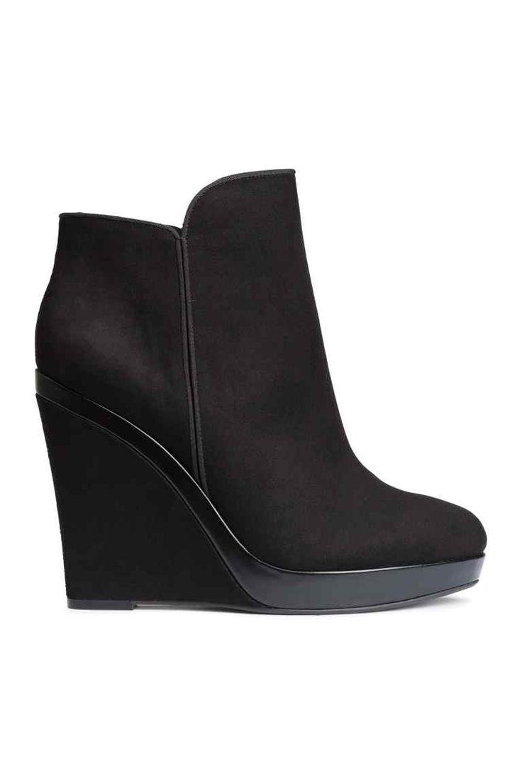 Vysoké boty na klínu   H&M