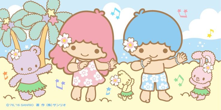 Little Twin Stars ☆ At the Beach