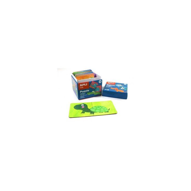 Állatok, 24 db-os kirakó, puzzle 3 éves kortól - Apli Kids